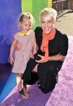 Pink and Willow at the inside Out Premiere