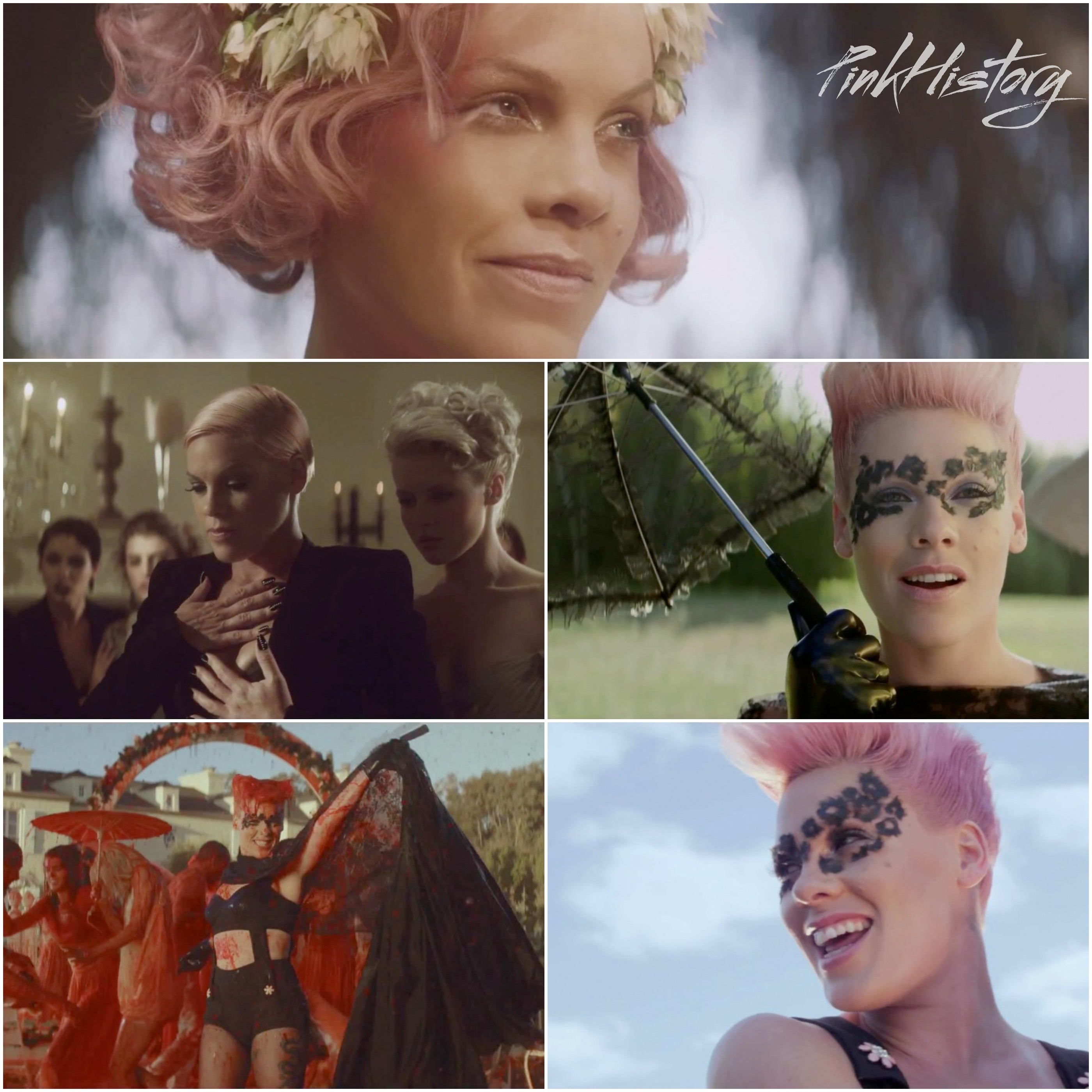 On This Day In Pink History 26th July 2012 Blow Me One Last Kiss Music Video Was Released On This Day In Pink History