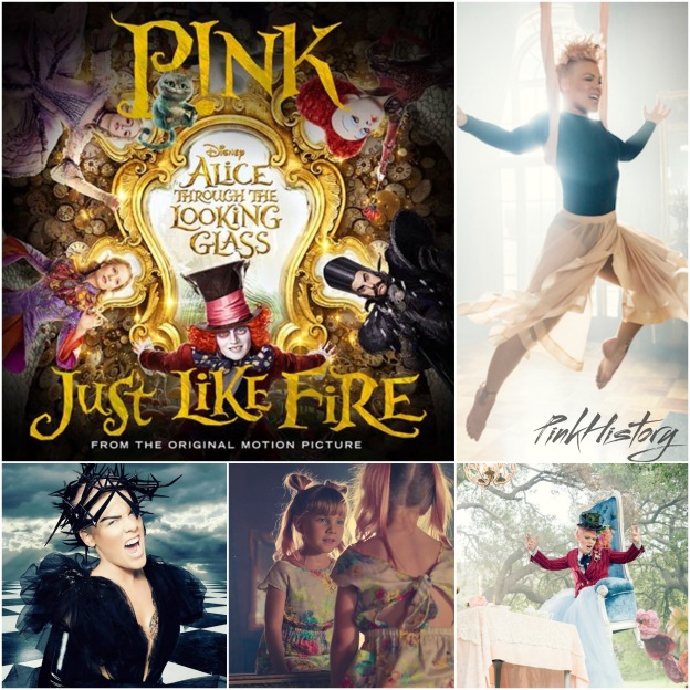 Pink Just Like Fire Album Tour